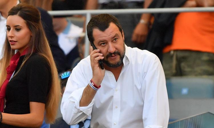 Salvini: 'Stadi riaperti? Meglio mille che niente: giusto riaprire'