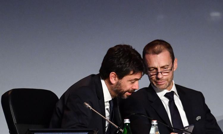 Ceferin e Agnelli: 'Fare di tutto per terminare i campionati. Stop ora prematuro e ingiustificato'