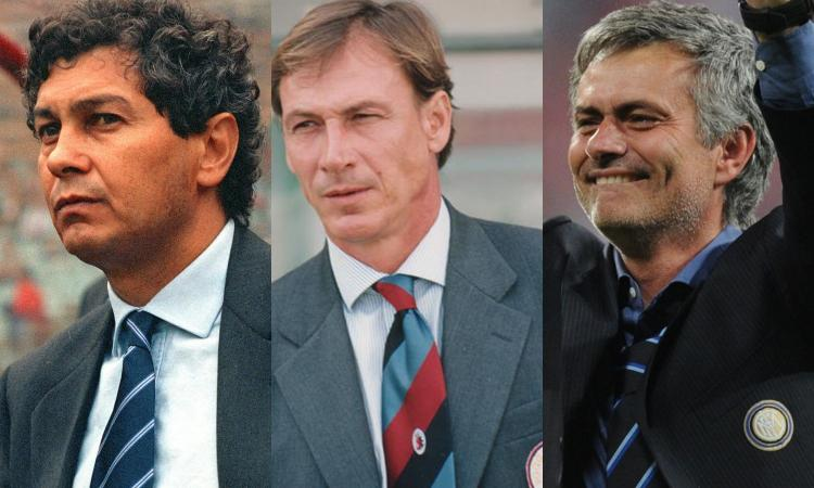 Da Lucescu a Zeman e Mourinho, i 10 migliori allenatori stranieri in Italia. Ora tocca a Rangnick