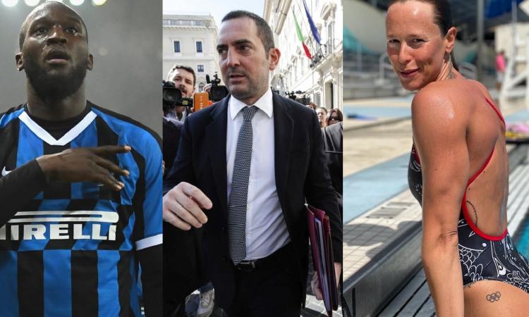 Il calcio non riparte: scelta insensata. Lukaku si allenerà per strada, la Pellegrini e Tortu no. Bufere in arrivo