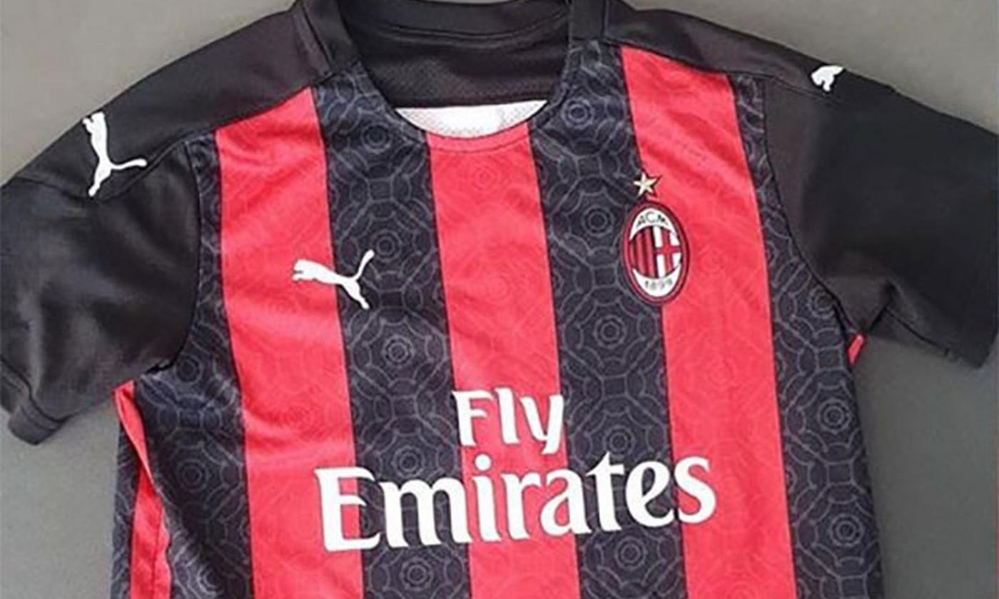 Milan, svelata la prima maglia 2020-21: tanto nero e... il Duomo ...