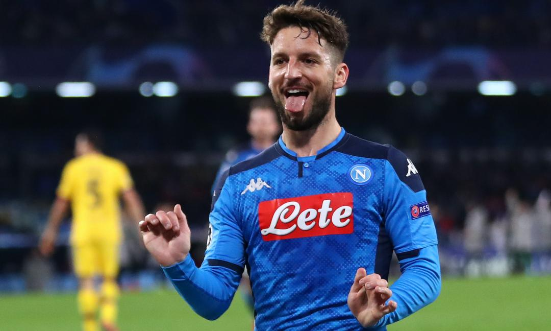Mertens vicino all'Inter