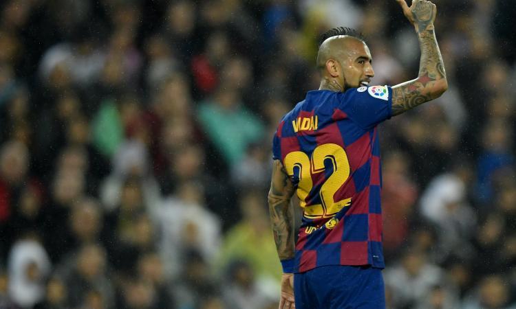 Vidal dice no alla Cina e aspetta l'Inter