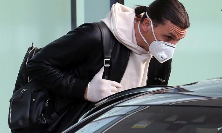 Milan, Ibrahimovic è tornato in Italia: in campo prima della fine di giugno? FOTO