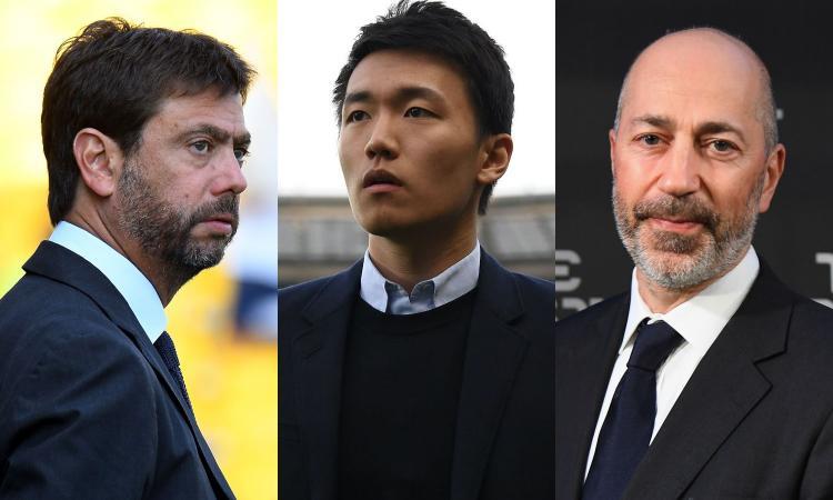 Il valore economico dei club: Juve fuori dalla top 10 europea, crescita boom dell'Inter. Milan a picco