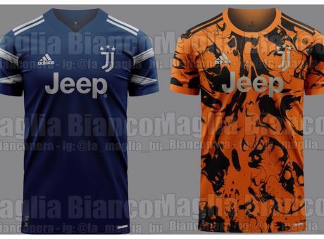 Juve, ecco seconda e terza maglia per il 2020/21: colori diversi e ...