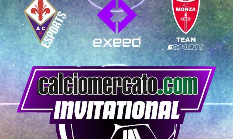 Calciomercato Invitational, domani il 4° turno: Fiorentina al comando, ultima chance per Exeed e Monza