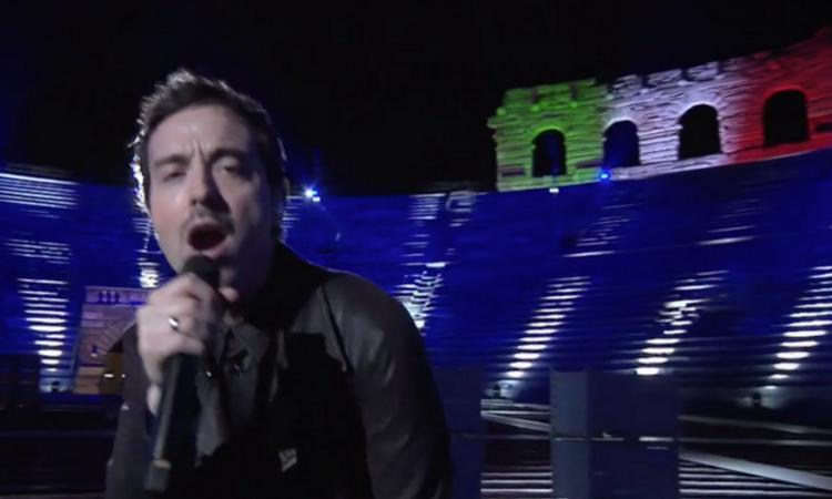 Diodato canta Modugno all'Eurovision, Baggio e Ibra con Russo: 'Gordienko nome da Milan' VIDEO