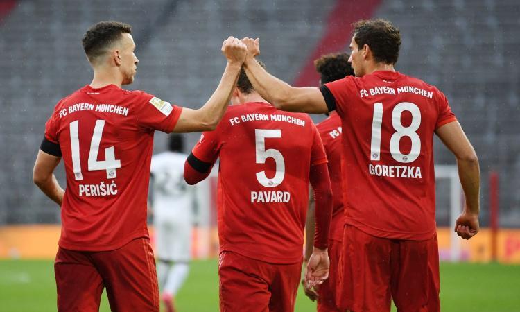 Bayern Monaco forte e folle: da 3-0 a 3-2, poi è 5-2 con l'Eintracht. Ora il Borussia Dortmund