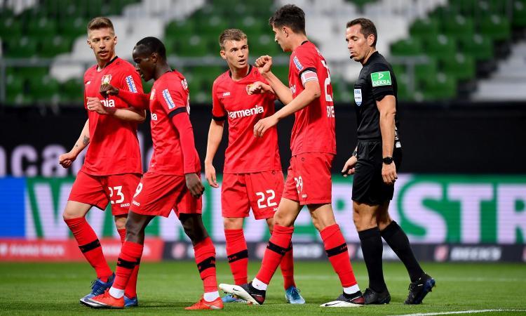 Bundesliga: Havertz show, vince il Leverkusen. Vola il Borussia Dortmund, segna Hakimi