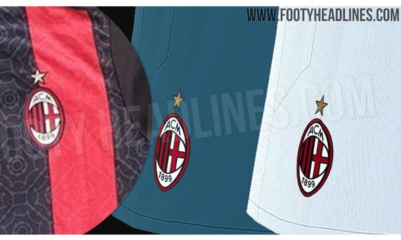 Milan, spuntano i kit per la prima, seconda e terza maglia 2020 ...