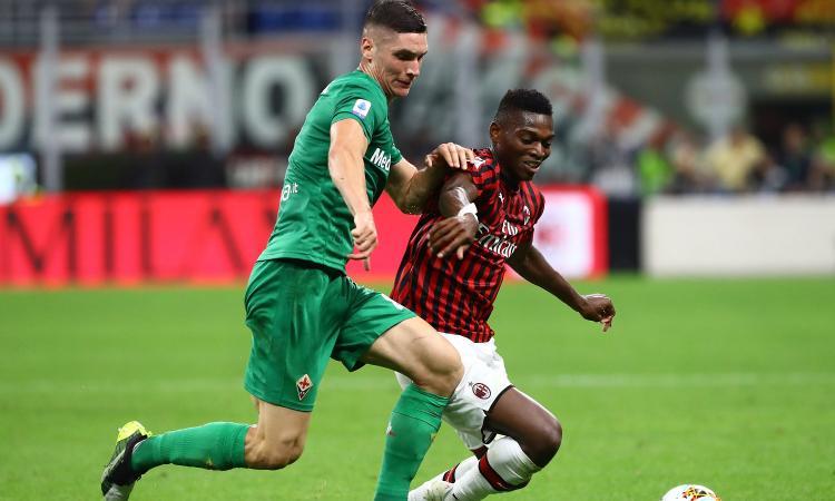 Fiorentina, Milenkovic: 'Chiellini un esempio. Milan o Napoli? C'è tempo'