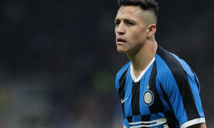 Inter, la formazione ufficiale: Sanchez con Lautaro, Brozovic-Eriksen in panchina con Lukaku