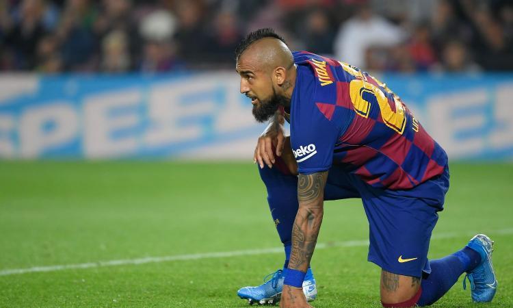 Vidal manda un messaggio all'Inter