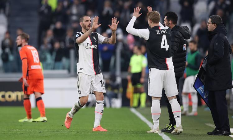 Bonucci e De Ligt, che coppia siete? A tratti belli, ma 43 gol subiti sono tanti. Con il Lione in palio presente e futuro