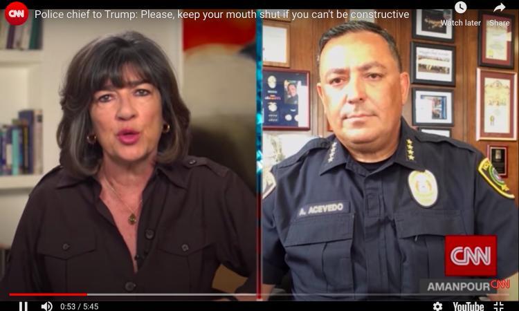 Trump minaccia: 'Basta disordini o schiero l'esercito'. Dura risposta del capo della polizia: 'Chiudi la bocca'