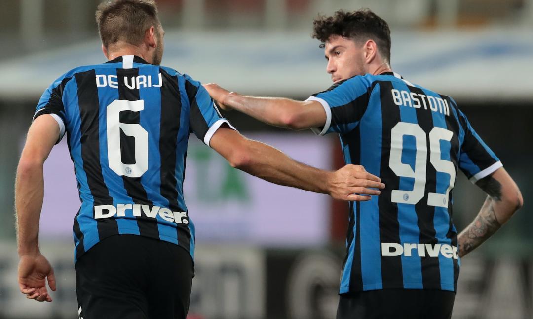 De Vrij e Bastoni salvano la faccia dell'Inter