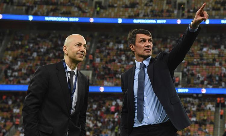 Milan, subito al lavoro dopo la Juve: Gazidis, Maldini e Massara a Milanello