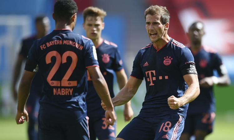 Bundesliga: Bayern forza 4 contro il Leverkusen. Schick non basta, pari Lipsia