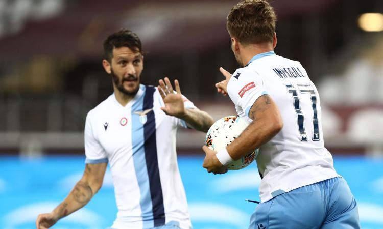 La Lazio verso il derby: Correa torna in campo, ma Luis Alberto e Immobile non concludono l'allenamento
