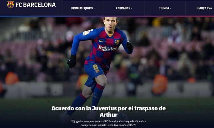 JUVE, UFFICIALE: PRESO ARTHUR! 'Arrivo in un grande club, ma ora testa al Barça per compagni e tifosi'