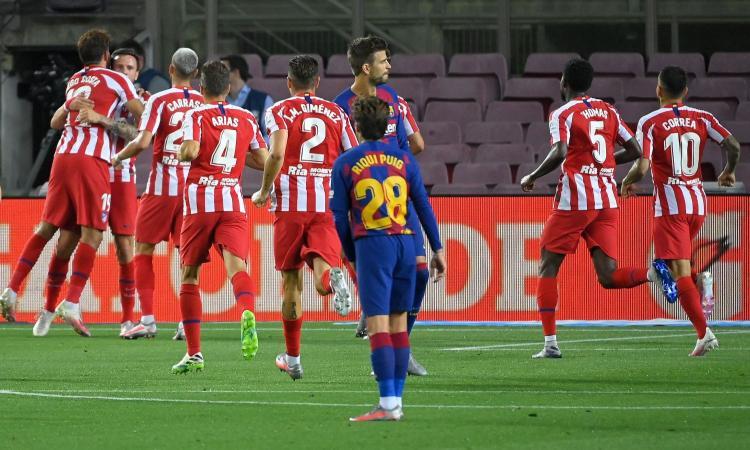 Messi 700, ma il Barcellona pareggia ancora: 2-2 con l'Atletico, il Real può scappare. Arthur out 90' VIDEO