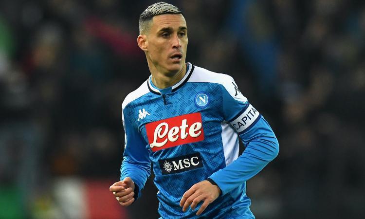 Callejon resta al Napoli fino al 31 agosto: c'è l'accordo con De Laurentiis
