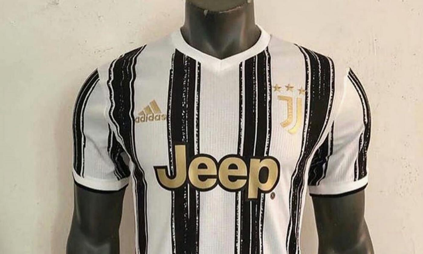 Juventus, UFFICIALE la nuova maglia home per la stagione 2020/2021 ...