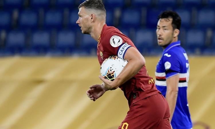 Dzeko spalmerà il contratto con la Roma