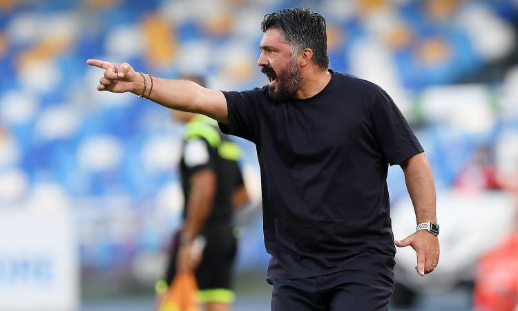 Gattuso sfida il Milan: per il suo Napoli non toglie gli occhi da due 'fedelissimi'