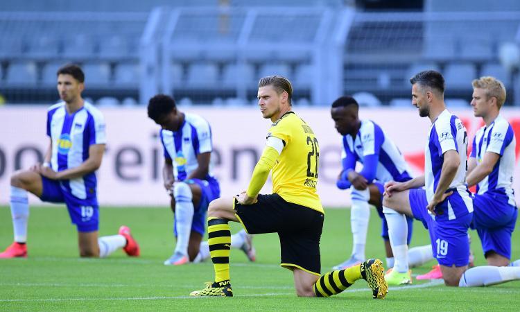 Emre Can decide Borussia Dortmund-Hertha Berlino: in ginocchio per Floyd