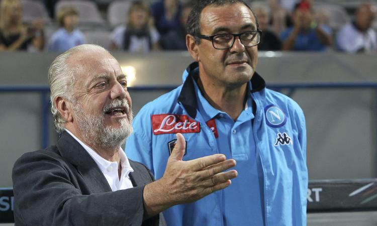 De Laurentiis chiama Sarri per un ritorno a Napoli: c'è la risposta dell'ex Juve