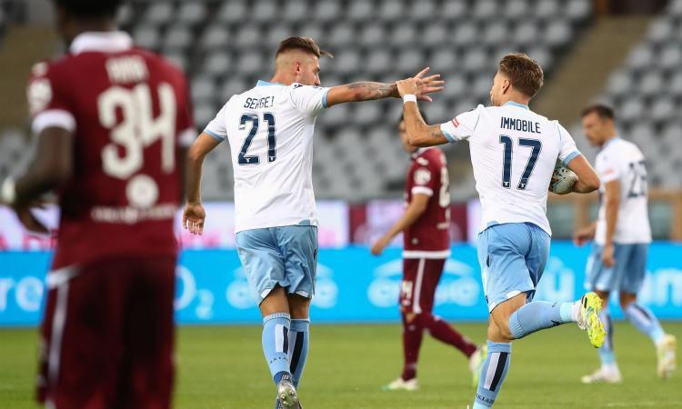 Torino-Lazio 1-2: il tabellino