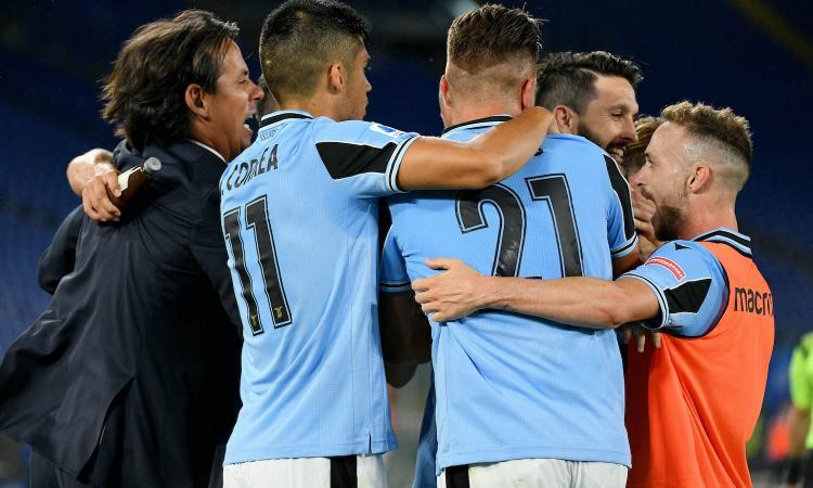 La Lazio vede il baratro ma non molla: Fiorentina ribaltata 2-1 con Immobile e Luis Alberto, Juve a +4. Perla di Ribery