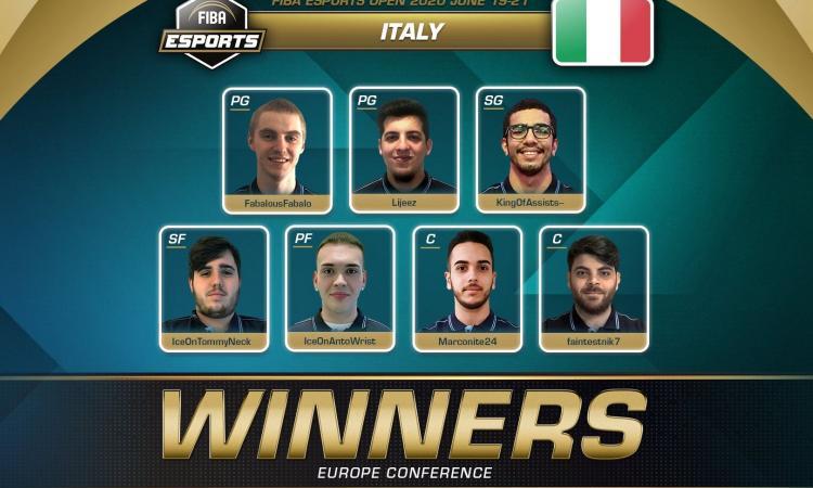 FIBA Esports Open 2020, Italia campione: 'Vittoria dedicata a Zanardi'