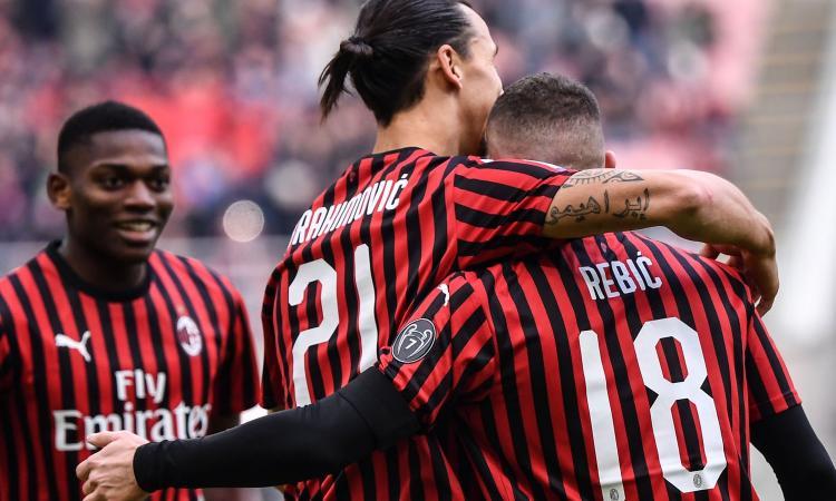 Milan: Rebic promosso, bocciato Leao