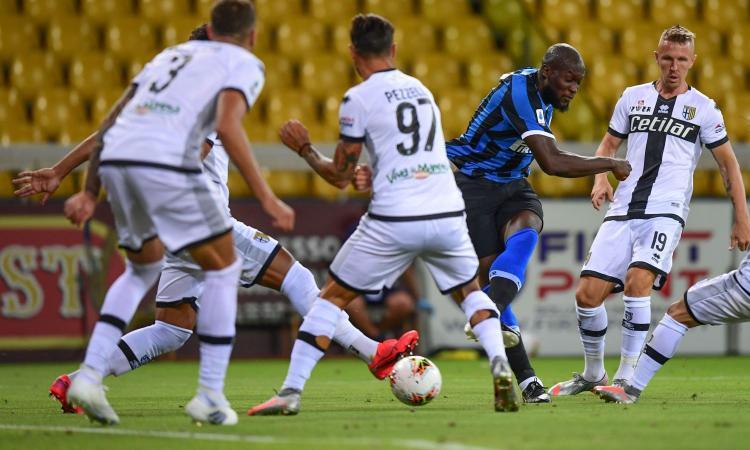 Parma-Inter 1-2: il tabellino