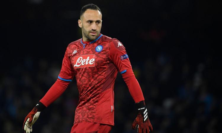Napoli: terapie per Ospina, con l'Inter non ci sarà