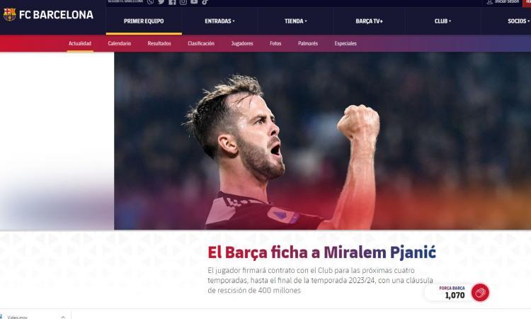 Pjanic al Barcellona: festa in famiglia, ma quante lacrime per l'addio alla Juve VIDEO