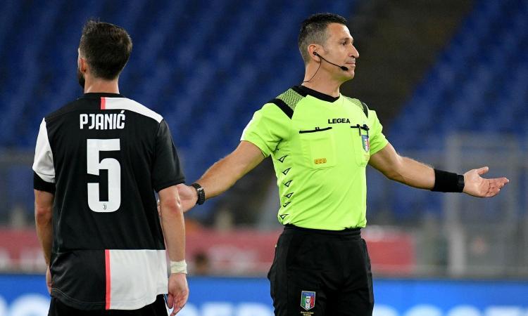 Napoli-Juve: arbitra Doveri, ecco assistenti e Var