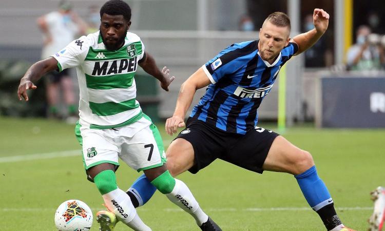 Inter: niente ricorso contro le 3 giornate di squalifica a Skriniar, multato anche dal club