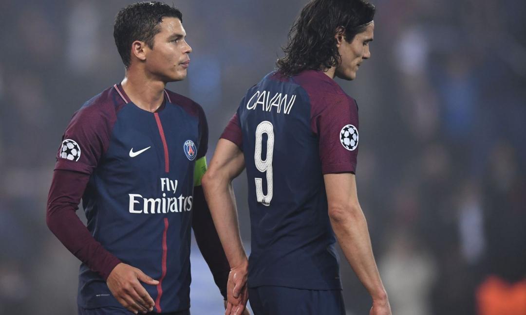 Cavani e Thiago Silva per un nuovo grande Milan?