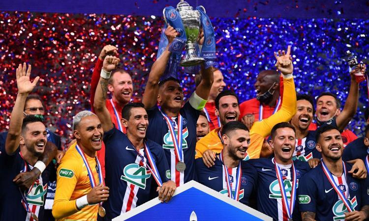 Al Psg la Coppa di Francia: 1-0 al S. Etienne, decide Neymar. Sugli spalti si rivedono i tifosi FOTO e VIDEO