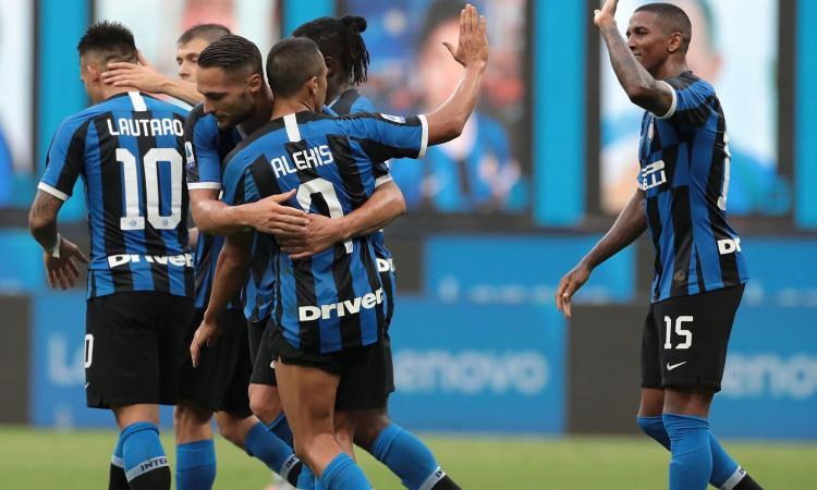 Il Brescia non esiste: l'Inter lo spazza via e risponde a Juve e Lazio
