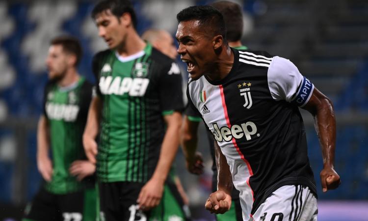 Sassuolo-Juventus 3-3: il tabellino