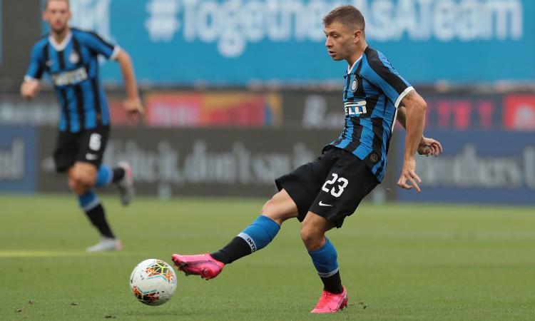 Inter, allarme rientrato: Barella si allena coi compagni