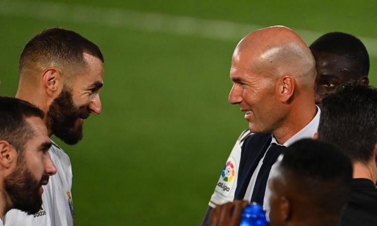 Real Madrid: Zidane ringrazia Benzema VIDEO