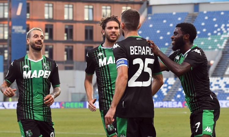 Sassuolo-Lecce 4-2: il tabellino