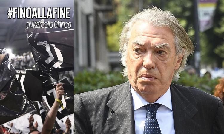 Chirico: 'Scudetto Juve, Moratti attacca ancora Agnelli. Ma si ricorda cosa faceva lui?'