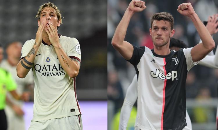 Juve, prima della Champions c'è la Roma: da Zaniolo a Rugani, quanti affari in ballo